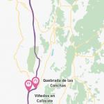 Entre quebradas  y parajes rojizos: Norte de Argentina